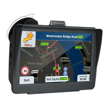 """7""""HD GPS Navigation System 8G Voice Guidance and Directional Speed Limit Z6P5"""