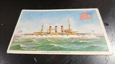 Prudential Insurance USS Virginia Battleship Postcard 1905