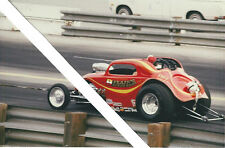 "Vintage Drag Racing-""BLAIR'S SPEED SHOP""-'48 Fiat Topollino-BB/Altered"