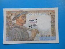 10 francs mineur 26-9-1946 F8/15 SPL