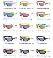 Kids Sunglasses Sporty Polarized Toddler Boys Girls Shades Children UV NFA367