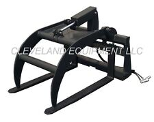 NEW PALLET FORK / LOG GRAPPLE SKID STEER LOADER ATTACHMENT Bobcat Kubota Mustang