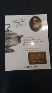 CHRISTIE'S CATALOGUE 2005 PORTRAIT MINIATURES OBJECTS OF VERTU AND SILVER