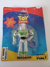 Toy Story 2 KEYCHAIN  Buzz Lightyear NIB DISNEY PIXAR 1999key chain