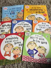 Official Charlie And Lola Large Fun Foiled Stickers
