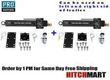 2- PRO SERIES FRICTION SWAY CONTROL FOR WEIGHT DISTRIBUTION TRAILER HITCH  83660