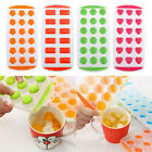 Silicone Ice Ball Molds Maker Cube Freeze Tray Mould Bar Jelly Pudding New.
