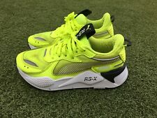 Women's Puma RSX Green Size UK 5.5 Used Ladies Trainers 5.5