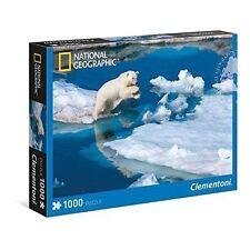 Clementoni Polar Bear 1000pc Jigsaw Puzzle National Geographic