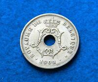 1902 Belgium 10 Centimes - BELGIQUE - Great Coin - See PICs