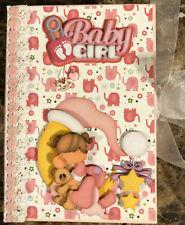 Premade Baby Girl Christmas Xmas Mini Scrapbook Album