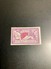 Timbre France, N°240, merson 3fr violet, Neuf, cote: 62€