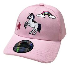 6cd246d4813 Unicorn Kids Unicorn Snapback Children Baseball Cap Hat Style Cappy Rosa