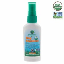 Greenerways Organic Mosquito Insect Repellent Travel Size, Premium, USDA Organi