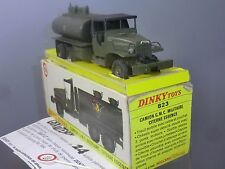 FRENCH DINKY TOYS MODEL No.823    GMC MILITARY TANKER   VN  MIB