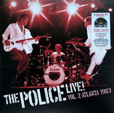The Police Live! Vol.2 Atlanta 1983 Doppio Vinile Lp Colorato Red Vinyl Rsd 2021