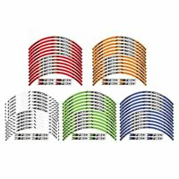 12X Motorcycles  Outer Rim Sticker Stripe Wheel Decals Fit For kawasaki Z750-s8