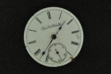 VINTAGE 18S ELGIN HUNTING CASE POCKET WATCH MOVEMENT GRADE 96 FROM 1897
