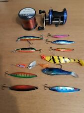 Boat/sea /pike-fishing Tackle-reel-line -lures