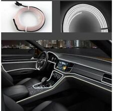 Interni Auto Striscia LED Luce Decorativa Atmosfera Filo 3mt Bianca awe