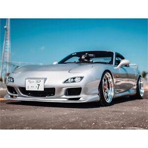KBD Body Kits Urethane 99 Spec Front Bumper & JDM Front Lip Fits Mazda RX7 93-97