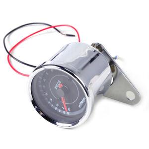 RPM LED Tachometer Scooter Analog Gauge Motor Motorcycle fit for Honda Yamaha ti