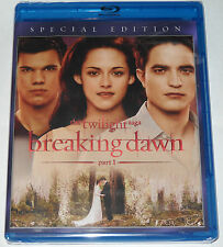 The Twilight Saga: Breaking Dawn Part 1 (Blu-ray Disc, 2012 Special Edition) NEW