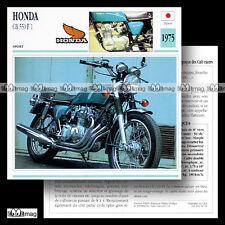 #060.14 HONDA CB 550 FOUR F1 1975 Fiche Moto Motorcycle Card
