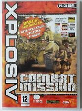COMBAT MISSION PC CD-ROM 2-DISC WORLD WAR 2 GAME brand new & sealed XP !!