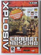 Combat Mission PC CD-ROM 2-Disc Weltkrieg 2 Spiel Brandneu Und Versiegelt XP!!!