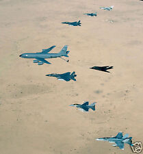 US Air Force Over Iraq 2003 Iraq War 9x8 Inch Reprint Photo