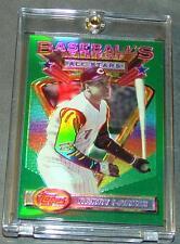1993 FINEST REFRACTOR #114 BARRY LARKIN REDS HOF SHARP  /241