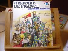 HISTOIRE DE FRANCE EN BANDES DESSINEES N°6 TBE/TTBE LOUIS DE FRANCE BOUVINES