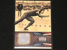 ERIC HEIDEN  2012 AMERICANA  olympic gold medal speed skater #/425  RELIC CARD