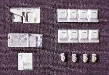 HO Scale Passenger Car Detail Parts Waukesha AC & Generator Set 2210