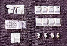 HO Scale Passenger Car Detail Parts Waukesha AC & Generator Set 2210