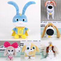 The Secret Life of Pets 2 Superhero Captain Snowball Max Plush Toy Doll Kid Gift