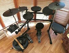 Session Pro DD505 Electronic Drum Kit - Complete with Stool, Sticks, Headphones