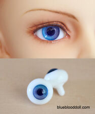 14mm bjd glass doll eyes two shades colors dollfie iplehouse luts #CH-06 ship US