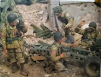 1/35 Resin Figure Model Kit US Soldiers 82nd Airborne Division WWII Unpainted