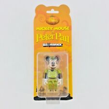BEARBRICK Disney MICKEY MOUSE Peter Pan 2009 7-Eleven Exclusive 100% Be@rBrick