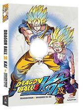 Dragon Ball Z Kai Dragonball Kai Season 4 Four (DVD, 2013, 4-Disc) FAST SHIPPING