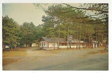 Sunbeam Bungalows, Esso Gas Station Sign! CALLANDER ON Vintage Ontario Postcard
