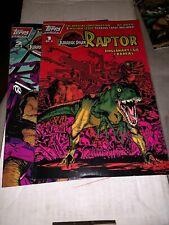 JURASSIC PARK RAPTOR COMICS #1 & 2  1993