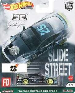 Hot Wheels 2021 - 2018 FORD MUSTANG RTR 1:64 car Culture SLIDE STREET