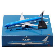 Aviation 1:400 KLM Airlines Boeing B777-300ER Diecast Aircraft Jet Model PH-BVA