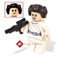 LEGO Star Wars Princess Leia minifigure from set 75229