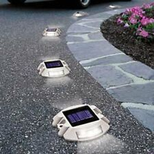 8 Pack Solar LED Markers for Pathway Driveway Lights Dock Path Step Road Safety