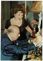 Einzi Stolz †2004 - original signierte Autogrammkarte - hand signed