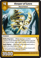 Kaijudo X1 KEEPER OF LAWS Rare #7/110 7CLA Clash of the DUEL MASTERS 2013